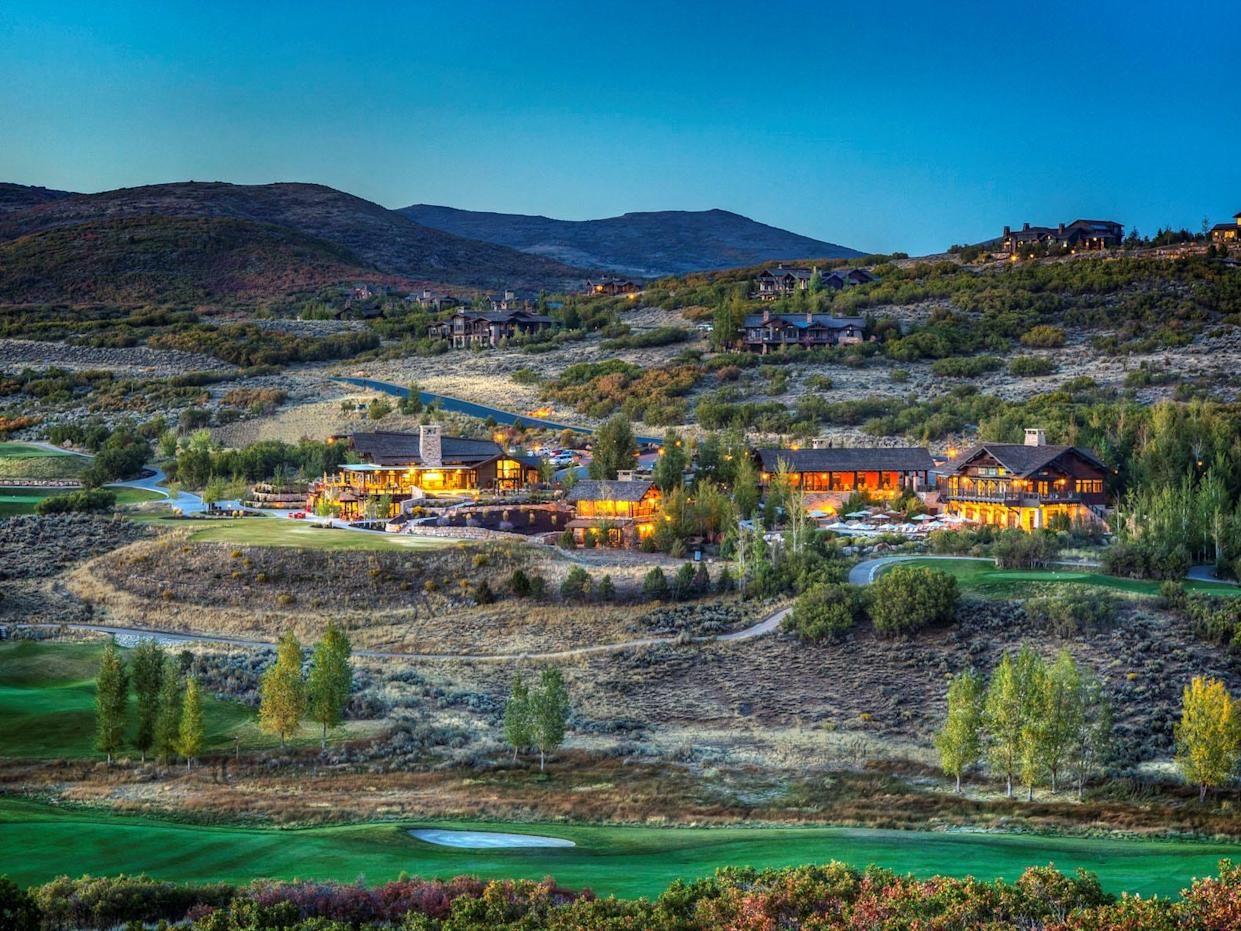 At Talisker Club in Park City, residents can order groceries and meals for curbside pickup from the clubhouse rather than go to a grocery store.