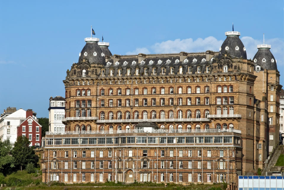 The Grand Hotel is a large hotel in Scarborough, England