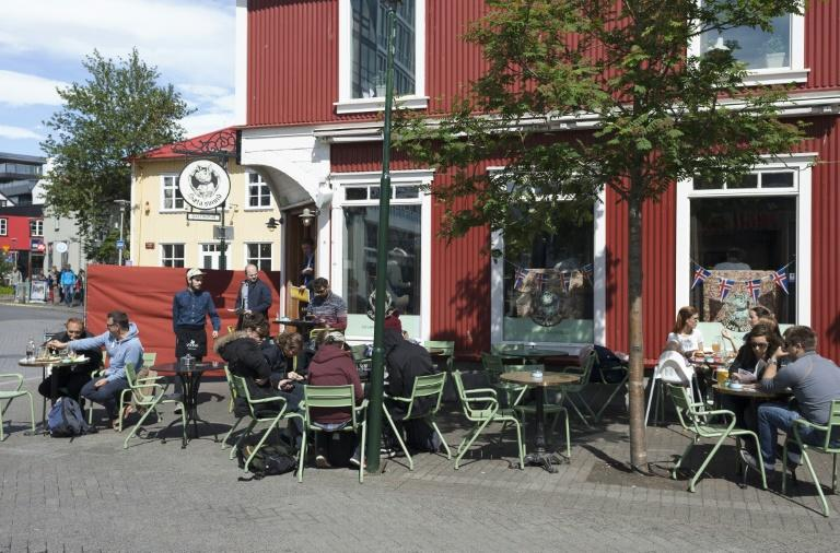 A dinner for two in an average Icelandic restaurant ends with a bill of about 85 euros, according to the consumer price comparison site Numbeo (AFP Photo/Karl Petersson)