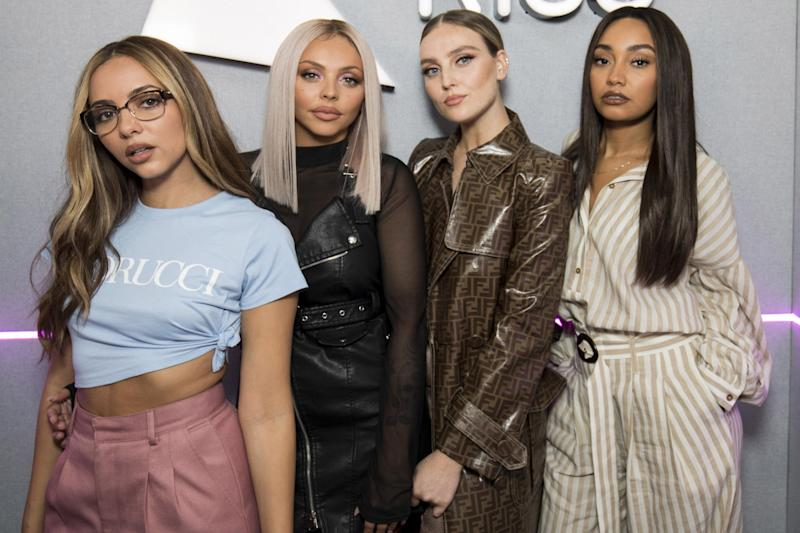 Little Mix: should they be immortalised in wax? (Photo by John Phillips/Getty Images) (Getty Images)