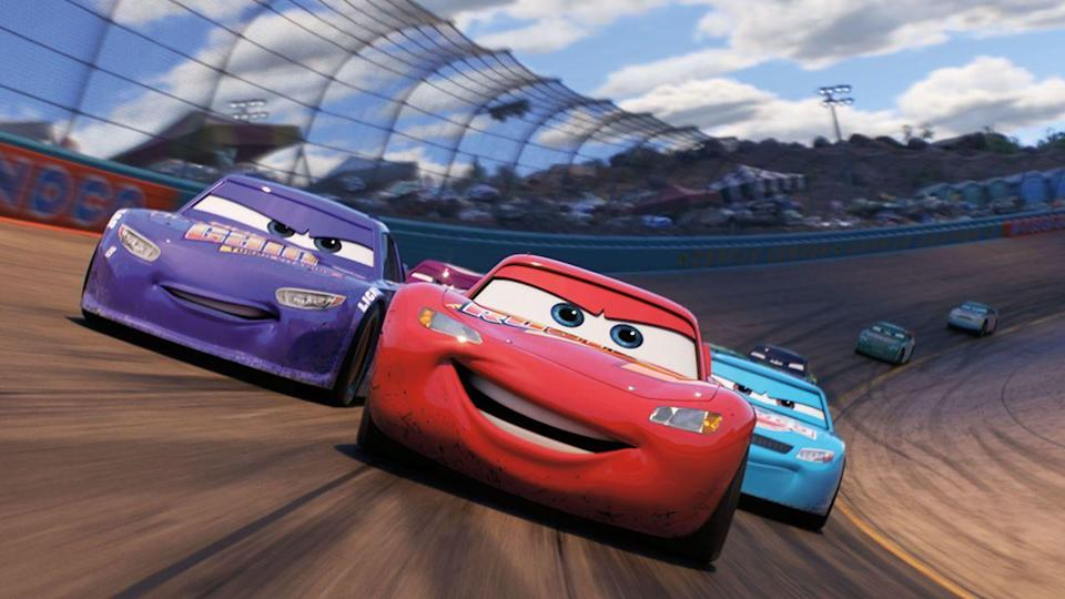 "<p>The fact that Lightning McQueen wrestles with aging in this movie — and is teamed up with a younger, charismatic screen partner (with the voice of Cristela Alonzo) — gives this something for the adults to latch onto, but there are still a lot of animated cars zooming around to sit through.<br></p><p><a class=""link rapid-noclick-resp"" href=""https://go.redirectingat.com?id=74968X1596630&url=https%3A%2F%2Fwww.disneyplus.com%2Fmovies%2Fcars-3%2F2uwOWguXyJe4&sref=https%3A%2F%2Fwww.redbookmag.com%2Flife%2Fg35149732%2Fbest-pixar-movies%2F"" rel=""nofollow noopener"" target=""_blank"" data-ylk=""slk:DISNEY+"">DISNEY+</a> <a class=""link rapid-noclick-resp"" href=""https://www.amazon.com/Cars-3-Theatrical-Owen-Wilson/dp/B071GPS6MZ?tag=syn-yahoo-20&ascsubtag=%5Bartid%7C10063.g.35149732%5Bsrc%7Cyahoo-us"" rel=""nofollow noopener"" target=""_blank"" data-ylk=""slk:AMAZON"">AMAZON</a></p>"