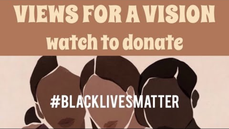 Videos fundraising for the Black Lives Matter movement are being flagged and removed by YouTube. (Photo: YouTube/Zoe Amira)