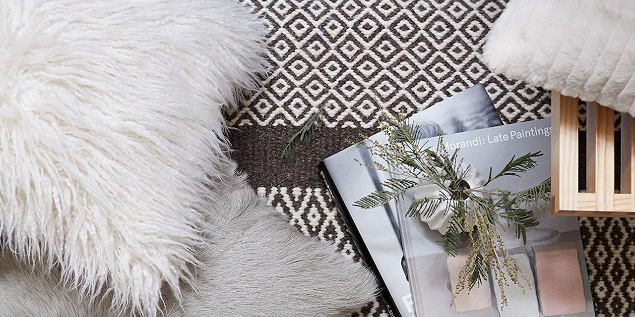 <p>Running out of space on your gallery wall? Take to the couch with arty prints and eye-catching texture. These throw pillows are a easy and stylish way to complete your sofa setup, plus many come in pairs for decking out one or more cozy spots at home! </p>