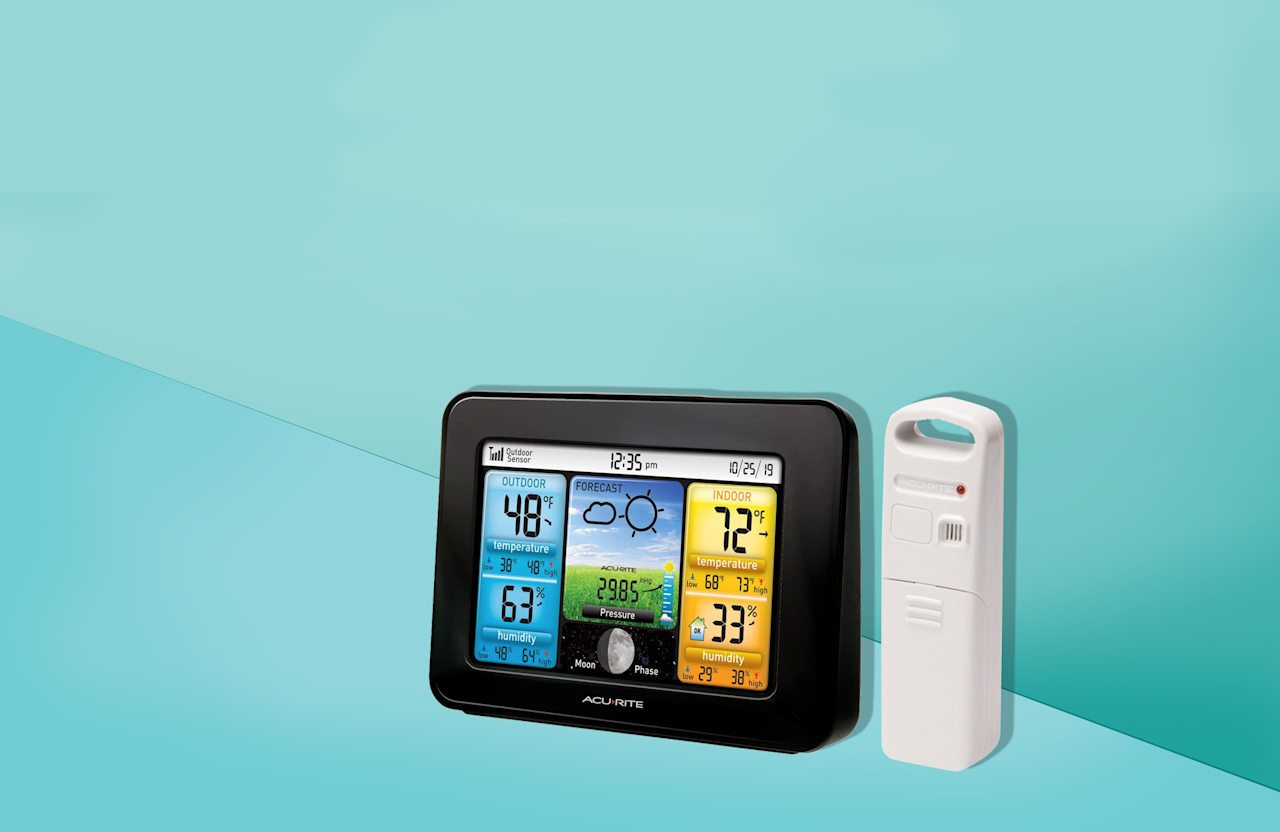 """<p>Need to know if rain is going to, well, rain on your parade? There's an app for that — but that little weather prediction tool can only tell you so much about the environment around you. For the most detailed information right at your fingertips, there's another powerful tool you can add to your space: A home weather station. <br><br>Personal weather stations are handy gadgets for giving you an up-to-the-minute snapshot of what's happening right outside your door — not wherever your local weather station is. Most use strategically placed sensors posted outside your home to capture readings, and may display everything from the outdoor temperature and humidity level to wind speeds and rainfall amounts. Though powerful, these gadgets are rather small. All are compact enough to sit on a tabletop, though you may choose to mount yours on a wall for easier viewing. <br></p><h2 class=""""body-h2"""">How we test weather stations</h2><p>The <a href=""""https://www.goodhousekeeping.com/institute/about-the-institute/a19748212/good-housekeeping-institute-product-reviews/"""" target=""""_blank"""">Good Housekeeping Institute</a> regularly tests home weather stations with a range of functionality at both high and low price points. In tests, we evaluate everything from ease of setup — including placing sensors and programming local information like date and time — to accuracy. For weeks, we track both the time and the weather, comparing time against the U.S. atomic clock and meticulously recording the humidity and temperature in our lab using humidity and temperature meters, then comparing that to the temperature and humidity readings on the weather stations. We also look at durability (does the unit survive three-foot drops? Do they sensors hold up to driving rain?) and extra features, like comfort level indicators and additional sensors.  </p><p>So how do you separate the best from the mediocre? And does price always equate to quality? Here, we've rounded up the standouts based on top Lab teste"""