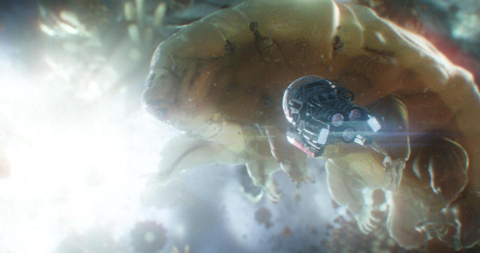 The Quantum Realm in Ant-Man and The Wasp (Film Frame/©Marvel Studios 2018)