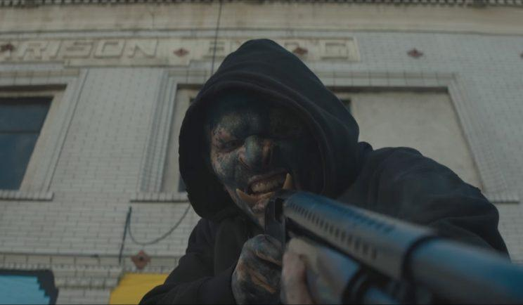 Orc Street Gangs? A magic wand? What the hell? - Credit: Netflix
