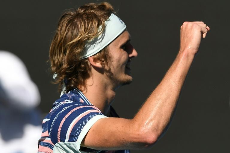 Alexander Zverev is into his first Grand Slam semi-final