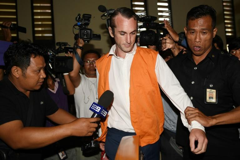 Briton David Taylor (pictured) has been jailed for six years for the killing of police officer Wayan Sudarsa