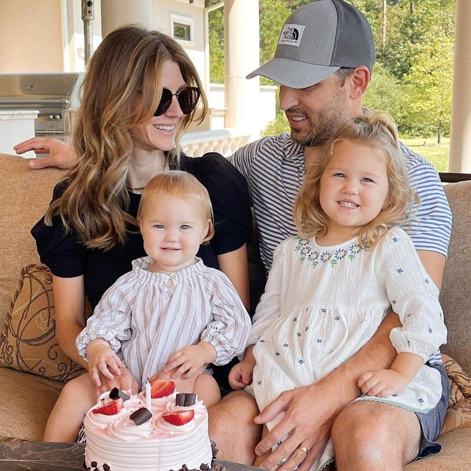 """<p>AshLee Frazier's daughter <a href=""""https://people.com/parents/the-bachelor-ashlee-frazier-welcomes-daughter-everleigh-anne/"""" rel=""""nofollow noopener"""" target=""""_blank"""" data-ylk=""""slk:Everleigh Anne"""" class=""""link rapid-noclick-resp"""">Everleigh Anne</a> turned 1 on Sept. 29.</p>"""