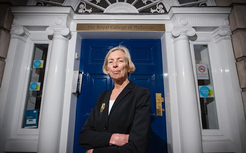 Prof Cathy Warwick, chief executive of the Royal College of Midwives - This photo is copyright of JNVisuals and only to be used with express permission and for a minimum usage fee of £160.