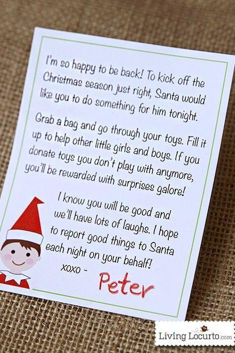 """<p>Isn't this sweet? Introduce your kids to your Elf—and to his entire mission of spreading kindness—with this simple letter. </p><p><strong>Get the tutorial at <a href=""""https://www.livinglocurto.com/elf-printable-letter/#_a5y_p=2973335"""" rel=""""nofollow noopener"""" target=""""_blank"""" data-ylk=""""slk:Living Locurto"""" class=""""link rapid-noclick-resp"""">Living Locurto</a>.</strong></p>"""