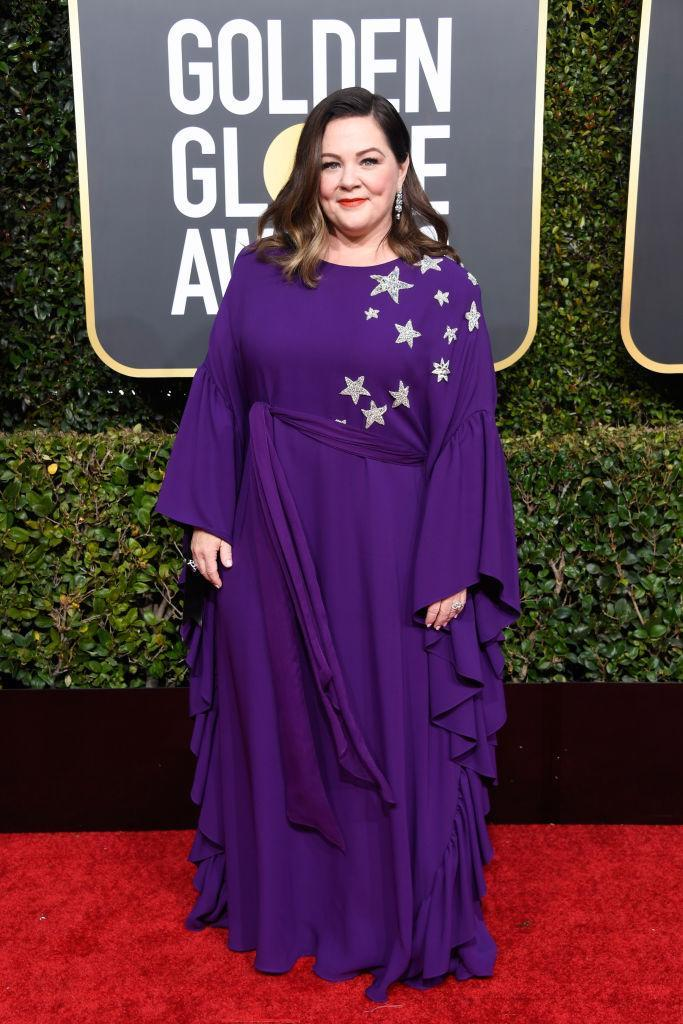 <p>Melissa McCarthy attends the 76th Annual Golden Globe Awards at the Beverly Hilton Hotel in Beverly Hills, Calif., on Jan. 6, 2019. (Photo: Getty Images) </p>