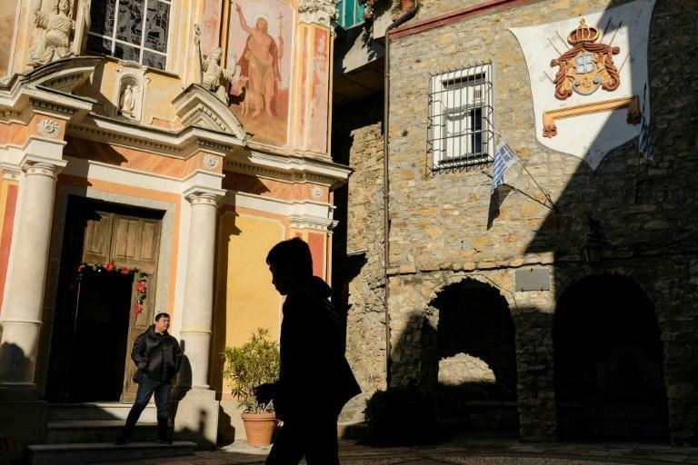Seborga is a hilltop village where the Knights Templar are said by locals to have hidden the Holy Grail (AFP Photo/MARCO BERTORELLO)