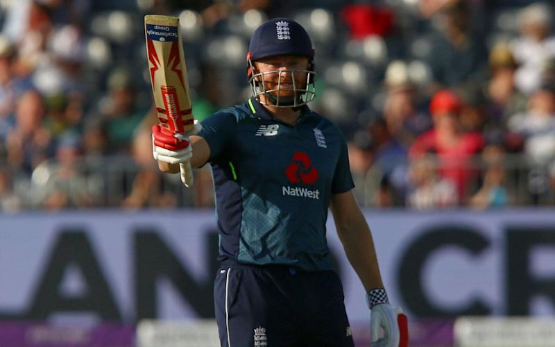 Jonny Bairstow makes his seventh ODI hundred as England tee off against Pakistan in pursuit of 359 to win - AFP