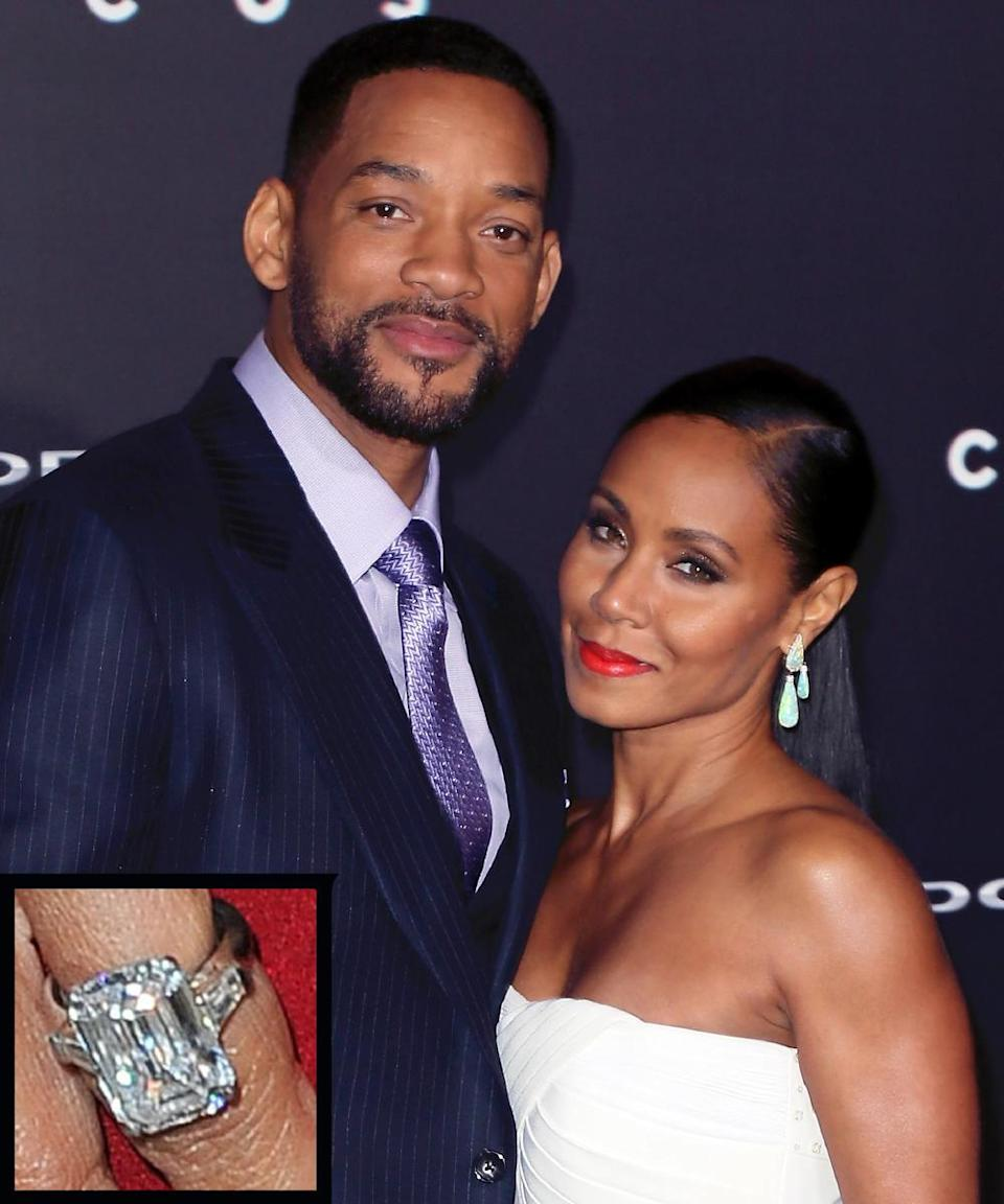 <p>Actor Will Smith Will proposed to Jada in November 1997 with a $250,000 engagement ring. The couple wed just months later.</p>