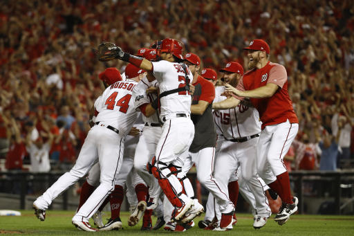 Washington Nationals advance to NLDS and everything feels so right