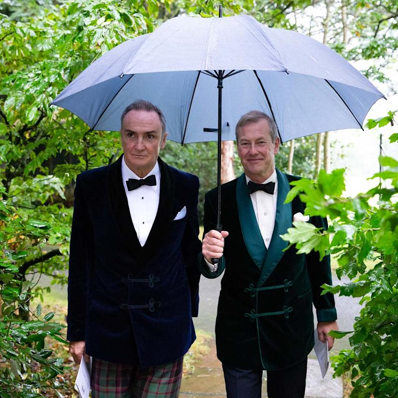 Lord Ivar Mountbatten and James Coyle Are Now Married, Marking the First Gay Royal Wedding