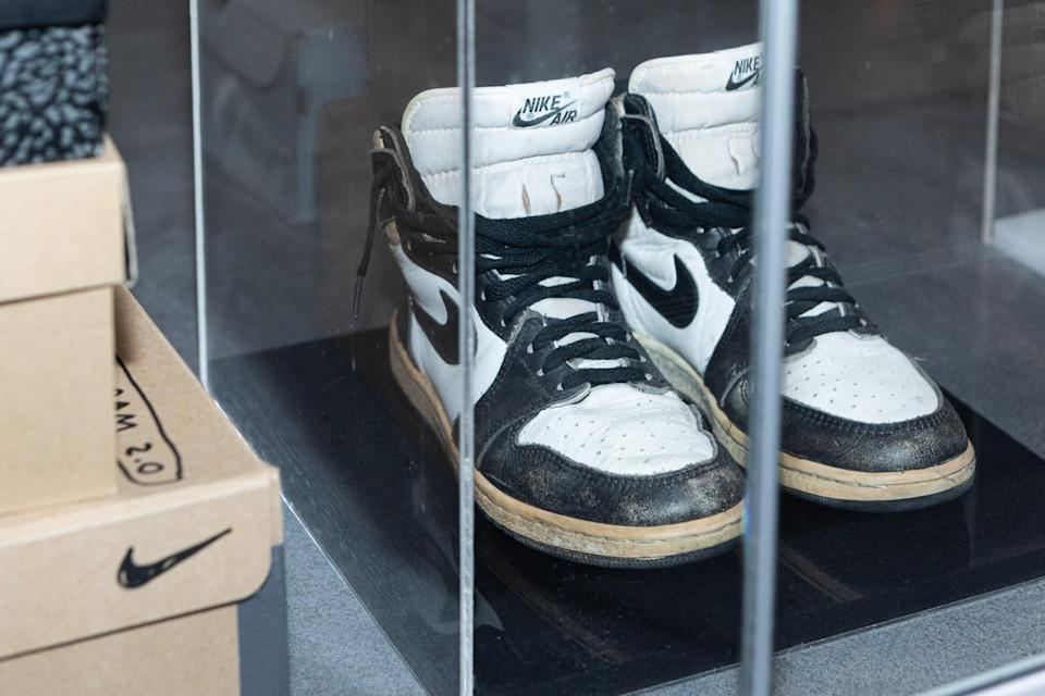 """""""I used them big time. The pair has a great emotional value and recalls many memories. Also, it was one of my first Nike sneakers."""""""