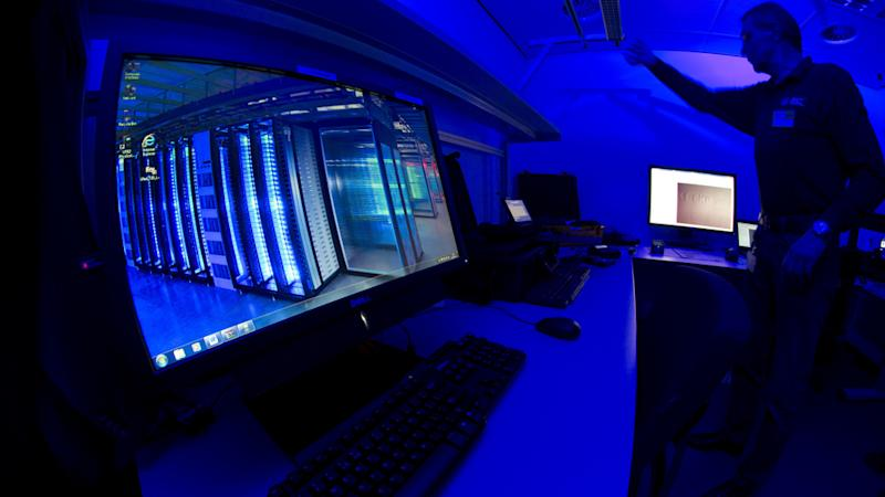 Pictured is the Cybercrime Centre at Europol headquarters in The Hague, Netherlands.