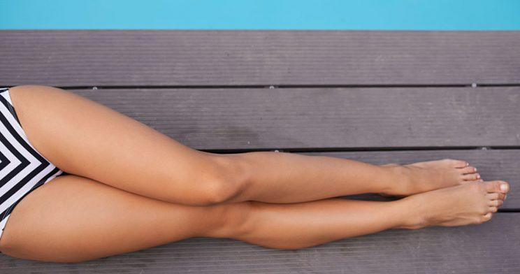You might not have to damage your skin to get a bronzed look. (Photo: Getty Images)