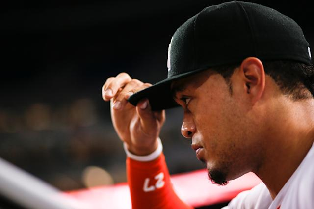 The Marlins offered Giancarlo Stanton to the Astros as part of an interesting deal. (Getty Images)