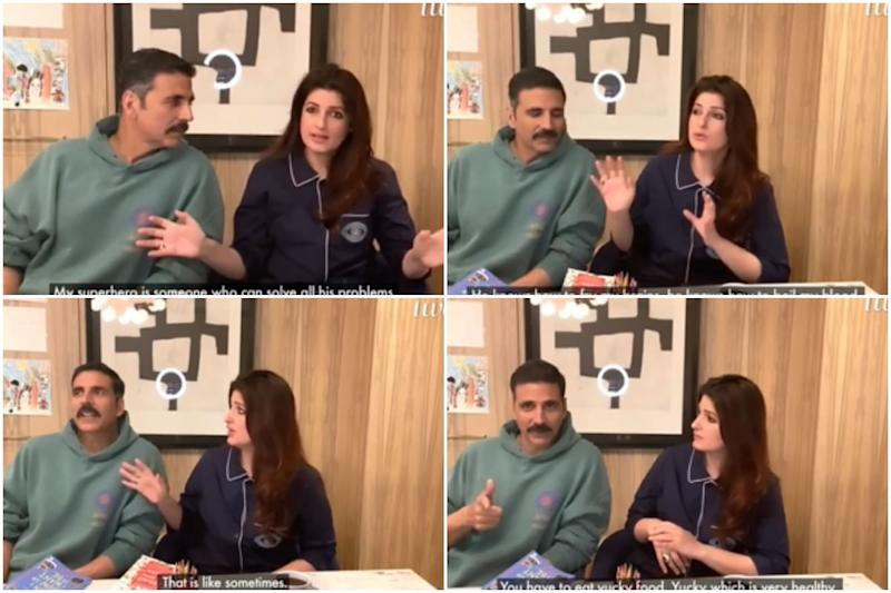 Akshay Kumar Reveals He's the Best Chef in the House as Twinkle Khanna Can't Even Make an Omelette
