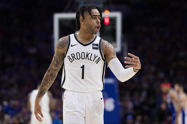 D'Angelo Russell is reportedly joining the Golden State Warriors. (Reuters)