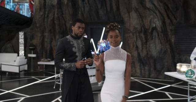 Chadwick Boseman and Letitia Wright (Photo: Marvel Studios)