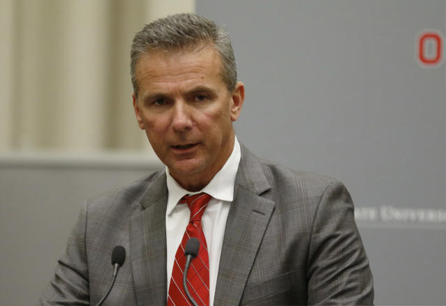 Urban Meyer finally managed to give Courtney Smith an apology on Friday. (AP)