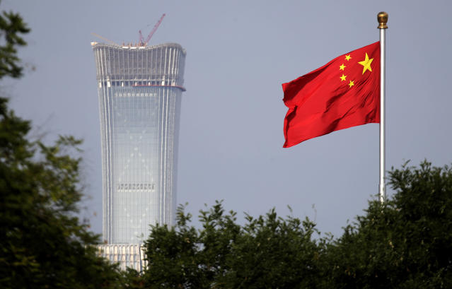 Public security agencies in China have been alerted of a looming trade war with the U.S. (AP Photo/Andy Wong, File)