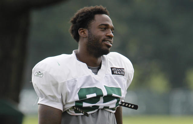 """Former <a class=""""link rapid-noclick-resp"""" href=""""/nfl/teams/nyj/"""" data-ylk=""""slk:New York Jets"""">New York Jets</a> running back Joe McKnight was shot and killed in a December 2016 road-rage incident near New Orleans (AP)"""