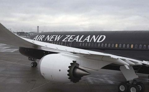 Air New Zealand's 787 airliner