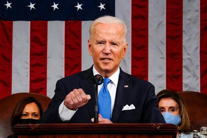 Biden had said his administration would deal with the threat posed by Pyongyang's nuclear programme 'through diplomacy as well as stern deterrence'