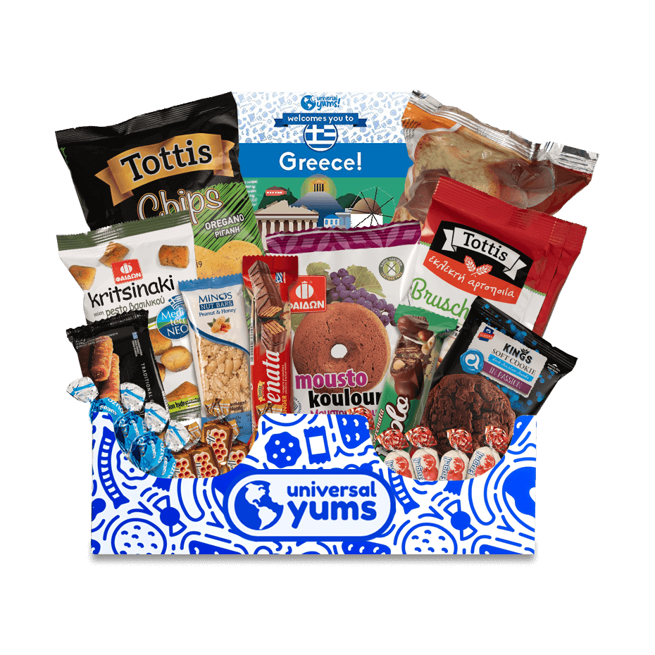 "Seeking gift ideas for the desk mate who always brought back treats from their global excursions? Universal Yums crafts <a href=""https://www.glamour.com/gallery/best-snack-subscription-boxes?mbid=synd_yahoo_rss"" rel=""nofollow noopener"" target=""_blank"" data-ylk=""slk:snack gift boxes"" class=""link rapid-noclick-resp"">snack gift boxes</a> of 12 unique treats from faraway destinations that will remind them of epic journeys. $29, Universal Yums. <a href=""https://www.universalyums.com/product/yum-yum-box-gift"" rel=""nofollow noopener"" target=""_blank"" data-ylk=""slk:Get it now!"" class=""link rapid-noclick-resp"">Get it now!</a>"