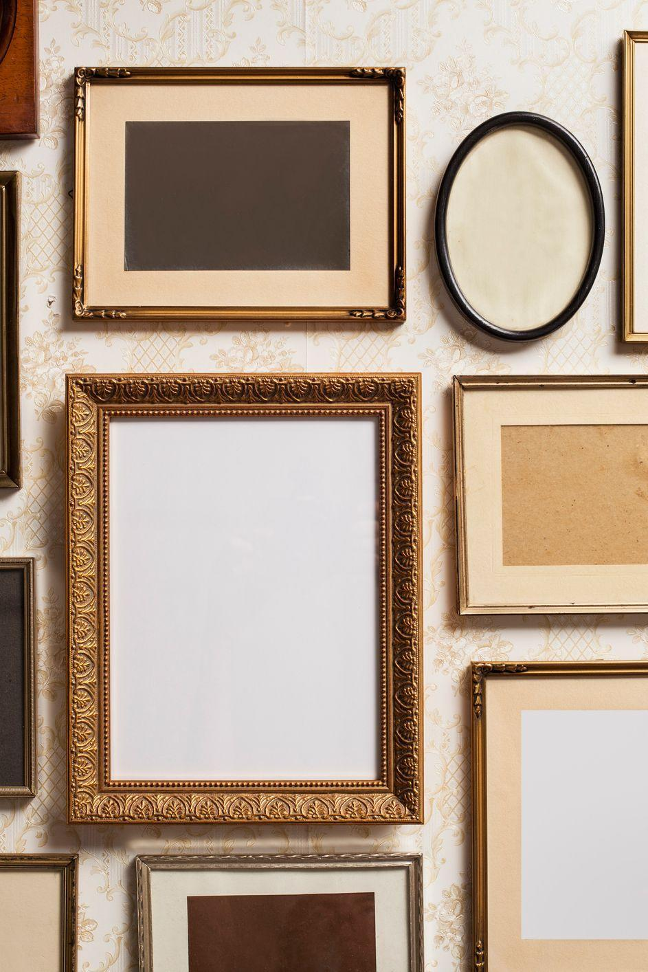 <p>They may not be the most elegant options, but for basic colored frames (like for your wall collage), dollar stores let you stock up for much less. </p>