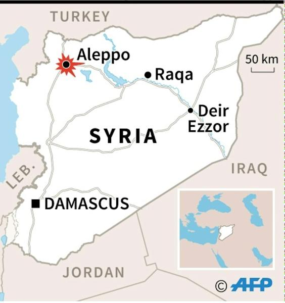 Syria forces, rebels in battle for Aleppo