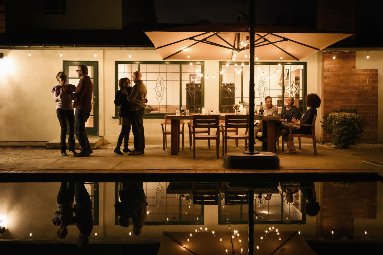 Make your mood lighting perfect, indoors and out. (Photo: Getty Images)