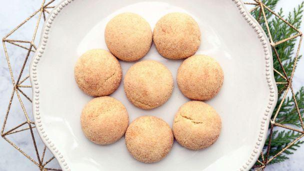 PHOTO: Lauren Conrad's Snickerdoodle cookies are pictured here. (ABC News)