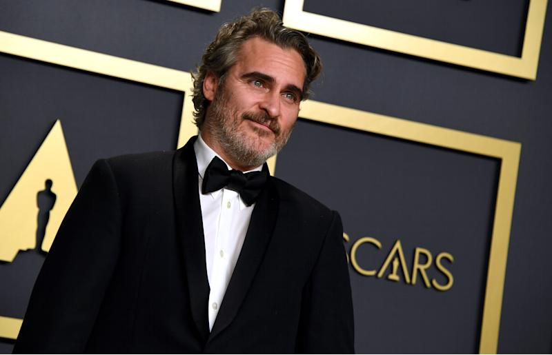 Joaquin Phoenix in the press room at the 92nd Academy Awards held at the Dolby Theatre in Hollywood, Los Angeles, USA. (Photo by Jennifer Graylock/PA Images via Getty Images)