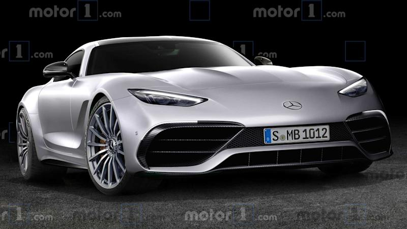 2021 Mercedes-AMG GT Coupe rendering