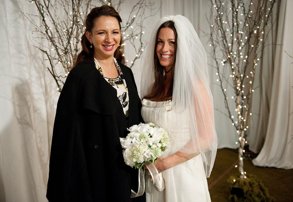 "Alanis Morissette on ""<a>Up All Night</a>""<br><br>It's the '90s all over again when the ""Ironic"" songstress guest stars as Amanda, Ava's former band mate who's getting married and wants Ava to officiate the ceremony. Let's just hope there's no ray-ee-ain on her wedding day. ARE WE EXCITED? Sure, but we need to see some embarrassing flashbacks to Ava's rocker-girl days.<br><br>Thursday, 2/16 at 9:30 PM on NBC"