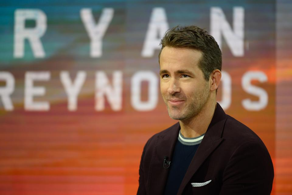 TODAY -- Pictured: Ryan Reynolds on Thursday, December 12, 2019 -- (Photo by: Nathan Congleton/NBC/NBCU Photo Bank via Getty Images)