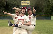 """<p>Alright, """"role"""" might be kind of a stretch, but it was his first foray into acting. In <strong>The Benchwarmers</strong>, the raunchy sports comedy reminiscent of <strong>Bad News Bears</strong>, Ray played """"Kid Catcher #1 Game #2."""" He didn't start seriously acting until the 2010s, with a series of shorts. He really found his stride in 2018 with a recurring role on <strong>Mayans M.C.</strong> as a prospective member of SAMCRO named Hallorann. Ray followed it up with roles as Jim in 2020's <strong>Promising Young Woman</strong> and Ray on 2021's <strong>Panic</strong>. Ray can next be seen in <strong>Where Are You</strong> with <a class=""""link rapid-noclick-resp"""" href=""""https://www.popsugar.com/latest/Anthony-Hopkins"""" rel=""""nofollow noopener"""" target=""""_blank"""" data-ylk=""""slk:Anthony Hopkins"""">Anthony Hopkins</a>.</p>"""