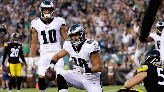<p>Like most preseason openers, there was a lot of ugliness Thursday but also some encouraging signs from the Eagles' 31-14 loss to the Steelers. By Reuben Frank</p>