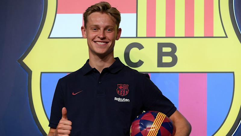 'Of course I'd like to play with Neymar' – De Jong would welcome Brazilian alongside Messi & Griezmann