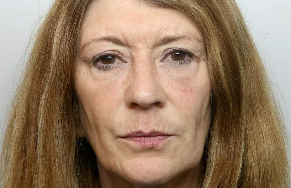 Corinna Smith has been jailed for life for the murder of her husband. (SWNS)