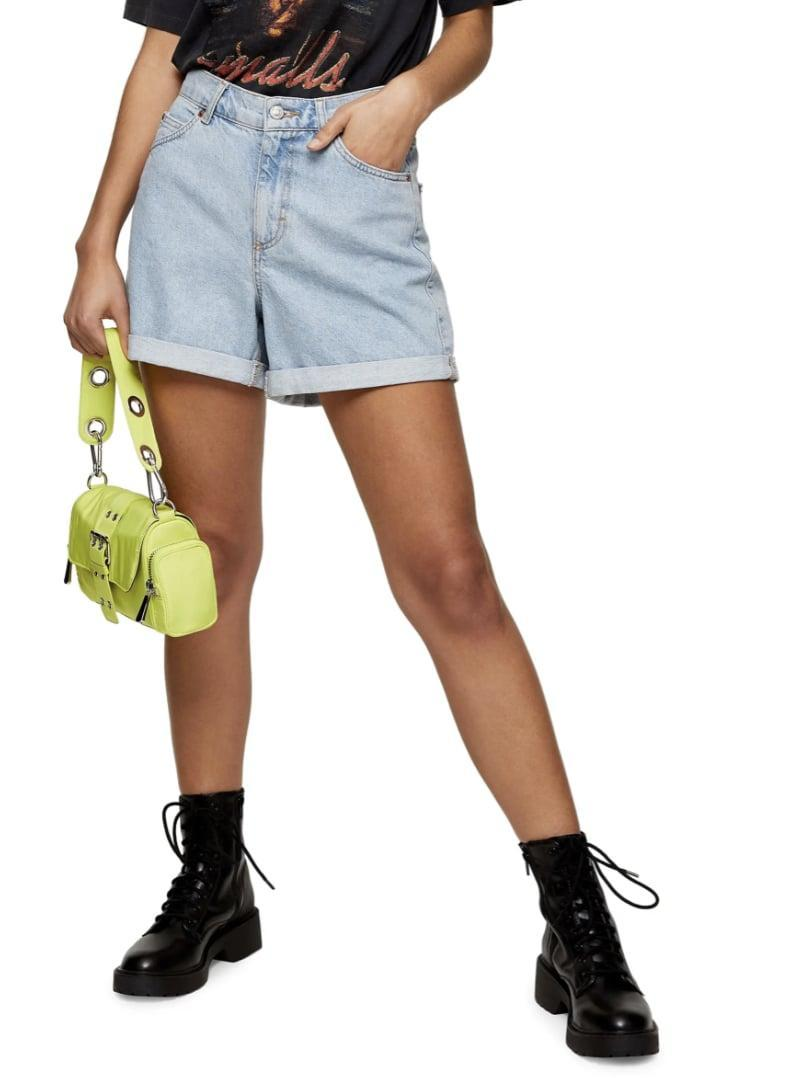 <p>These <span>Topshop Roll Hem Mom Denim Shorts</span> ($29, originally $58) are a great loose-fitting option.</p>