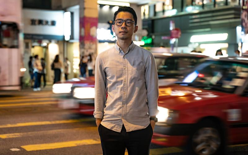 Pro-democracy activist Nathan Law has moved to London - Getty