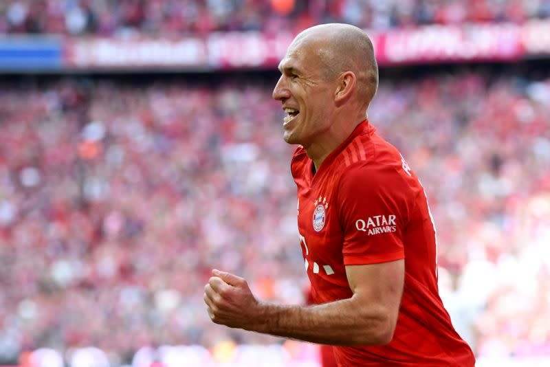 Robben vows to bounce back from latest injury setback