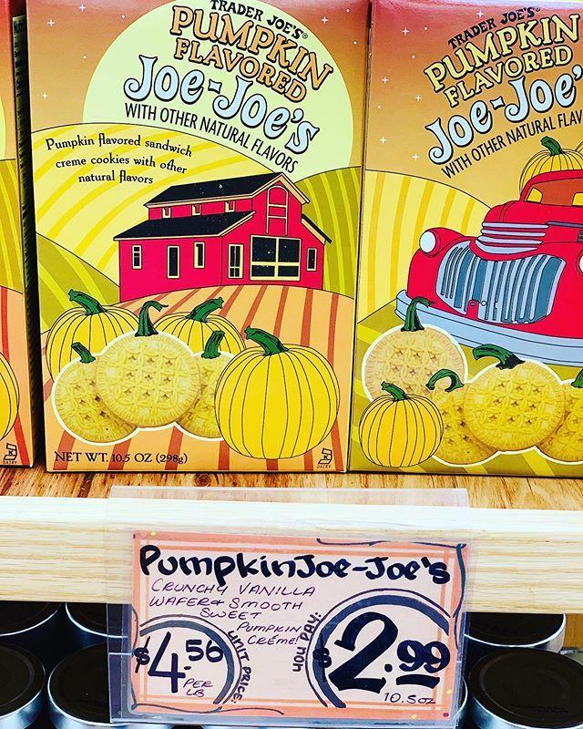 """<p>Who doesn't love a Joe-Joe? Especially when it's pumpkin flavored.</p><p><a href=""""https://www.instagram.com/p/CE5IezUF7Sm/"""" rel=""""nofollow noopener"""" target=""""_blank"""" data-ylk=""""slk:See the original post on Instagram"""" class=""""link rapid-noclick-resp"""">See the original post on Instagram</a></p>"""